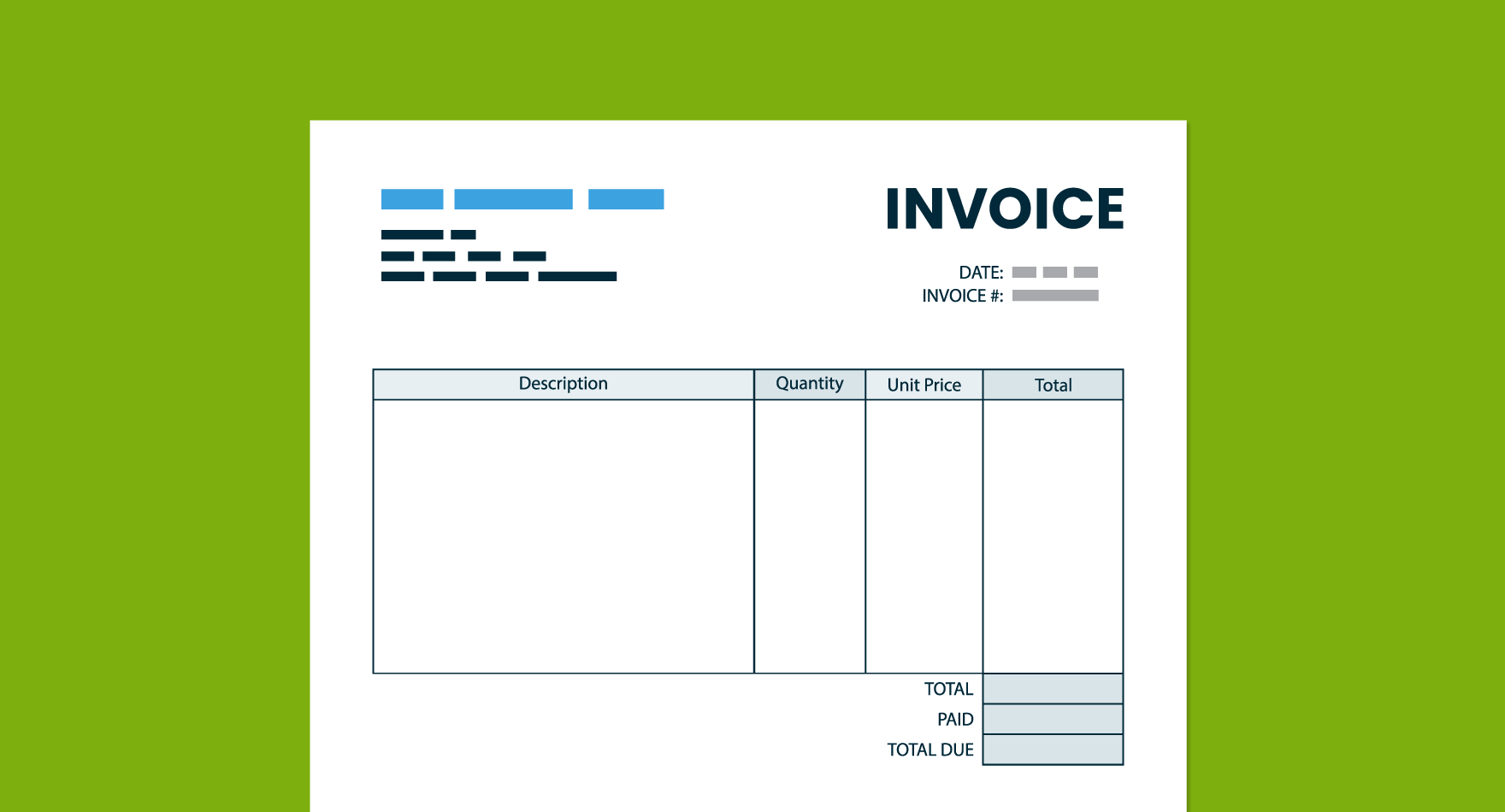 back to basics invoices and the invoicing process - Invocie