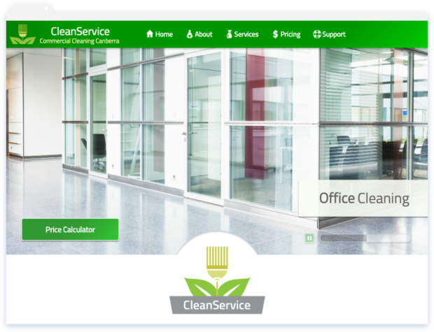 Clean Services Website