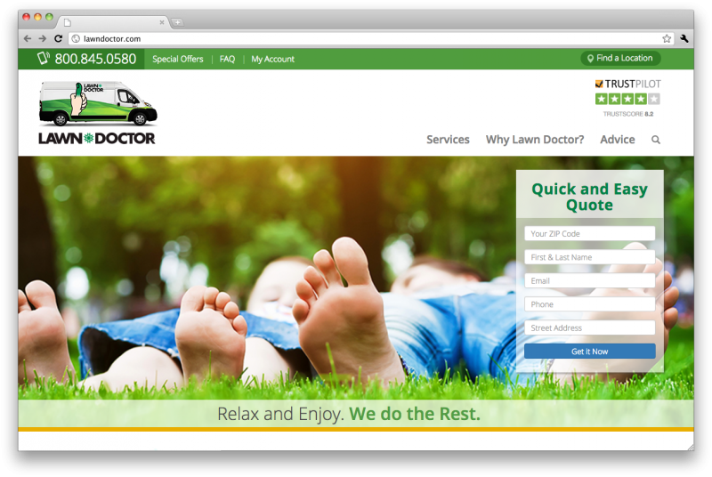 Lawn Doctor Website