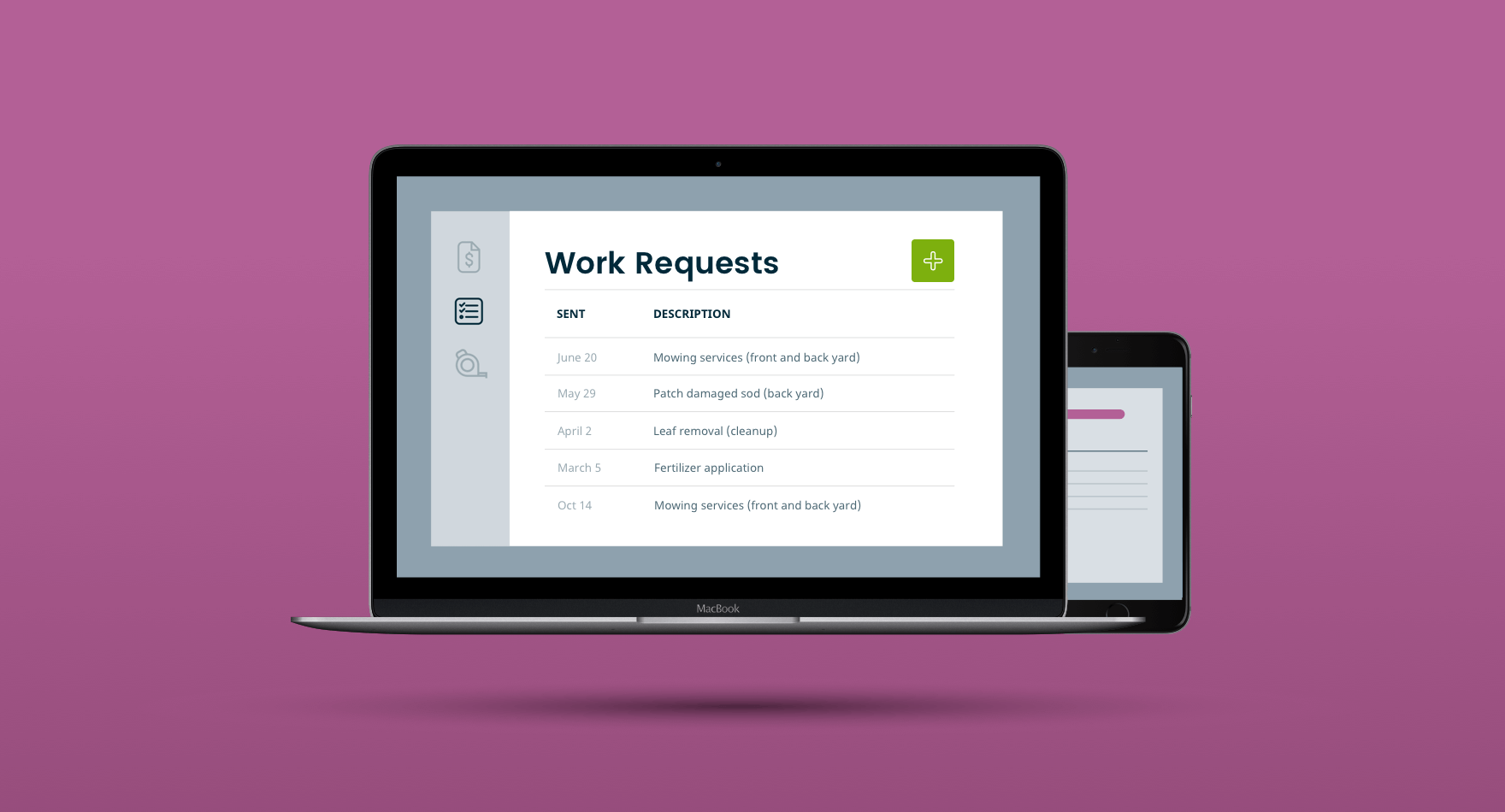 how it works work request form