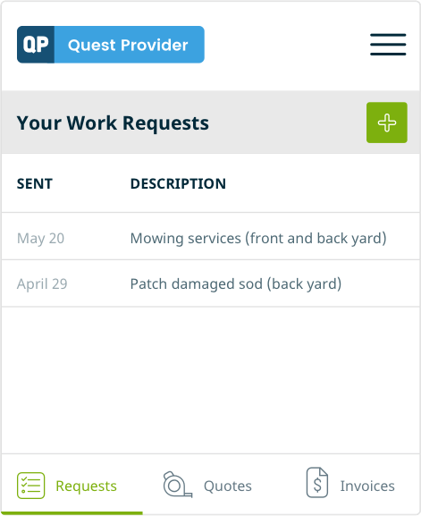 work request form