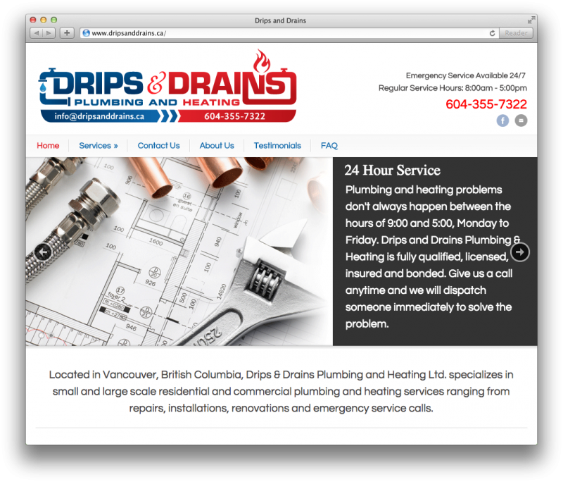 Drips and Drains
