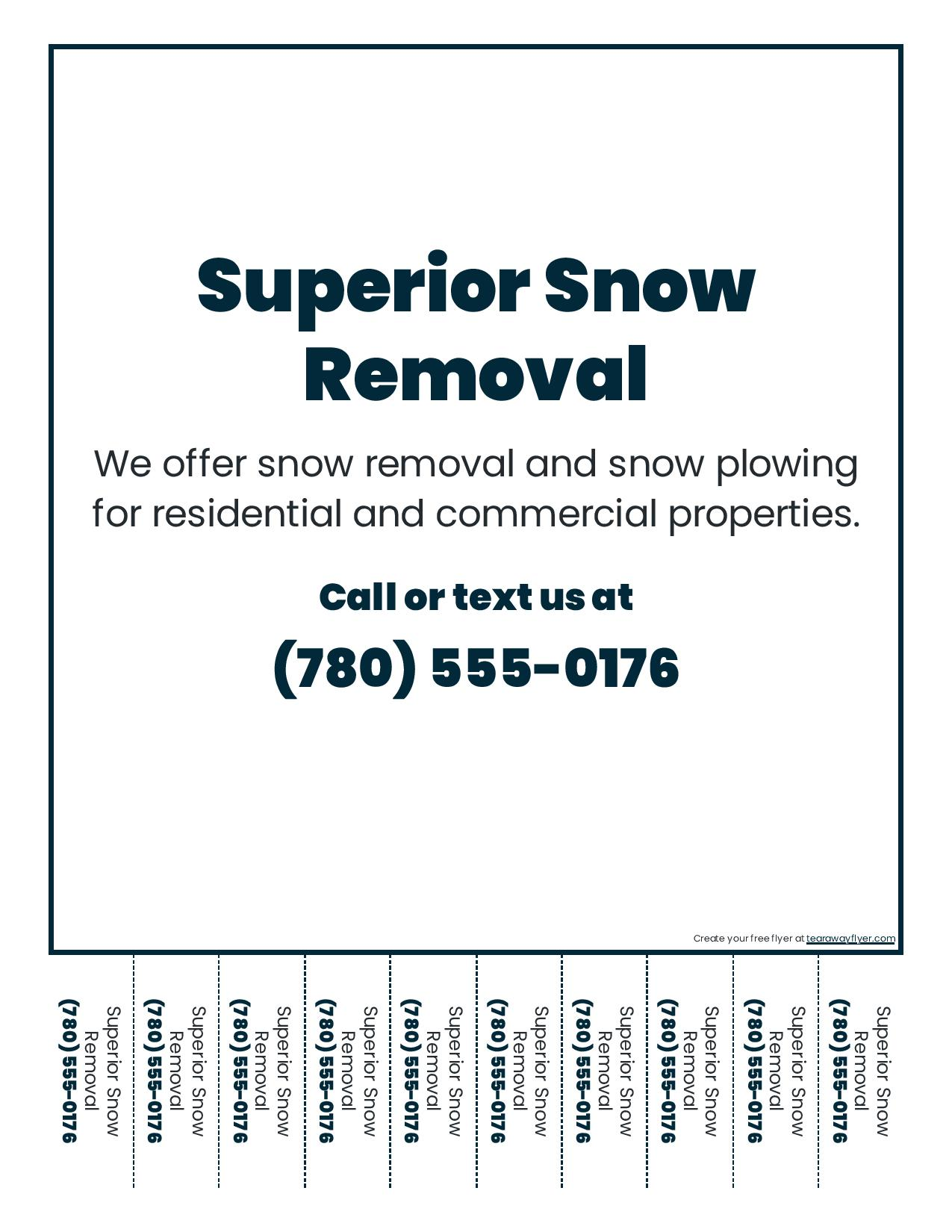 snow removal business tips