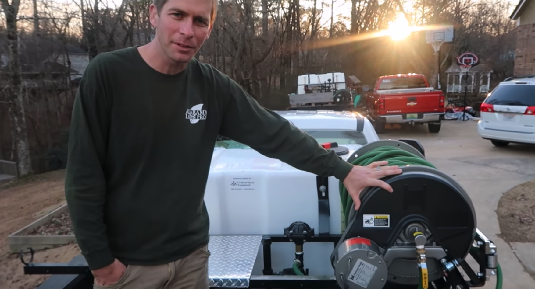 Jason Creel tips for starting a lawn care business
