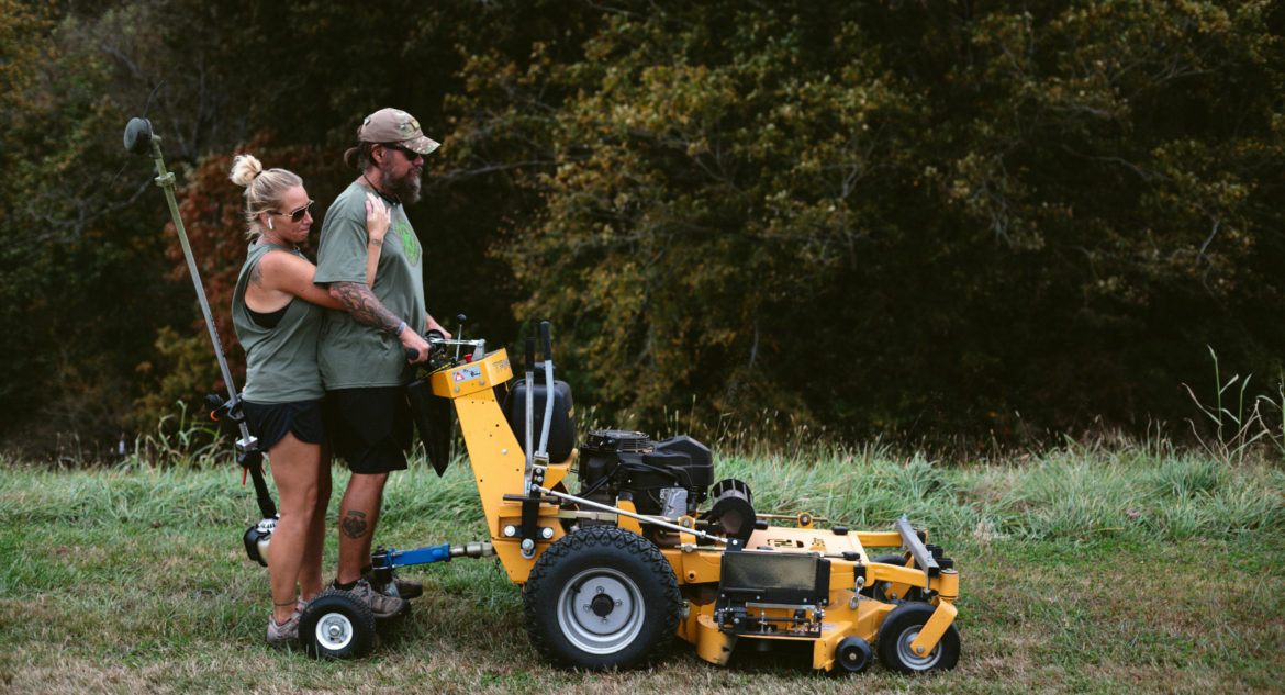 Starting a lawn care business with technology