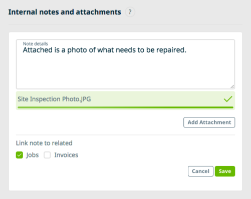 Adding a Photo to the Jobber CRM