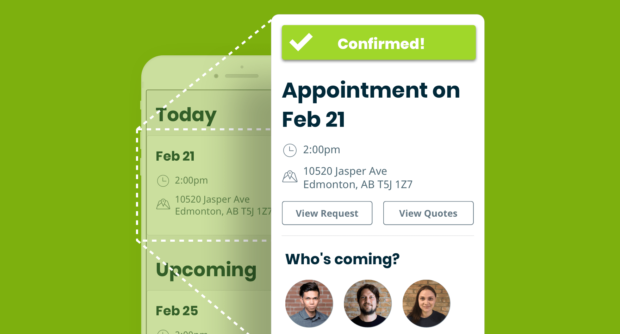 Appointment Details in Client Hub
