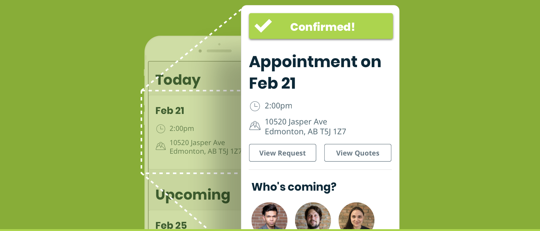 Appointment Confirmation Email
