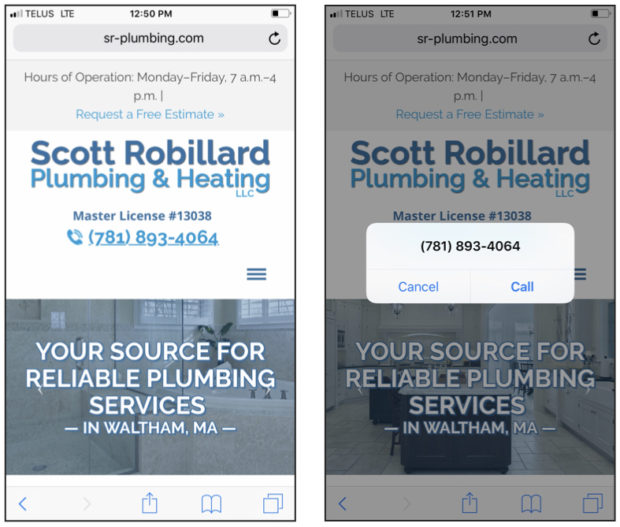 Best Plumbing Websites: Responsive Design