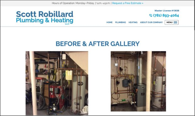 Best Plumbing Websites Scott Robillard