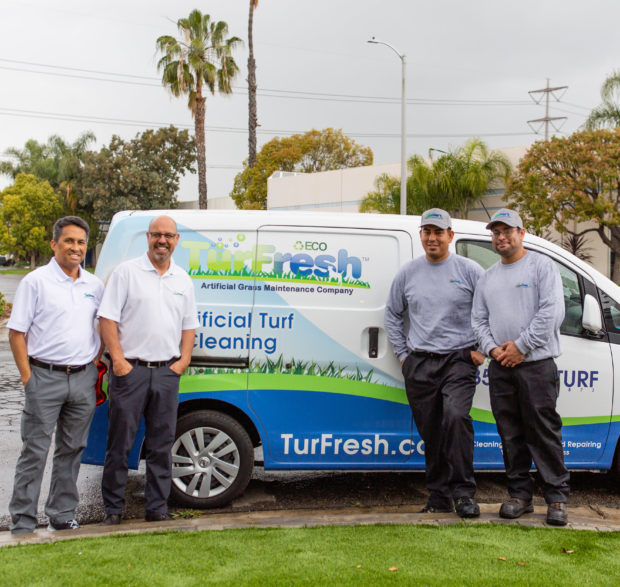image of lawn care company astroturf