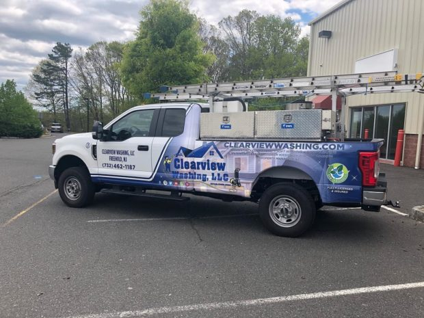 Clearview Washing - Window Cleaning Truck