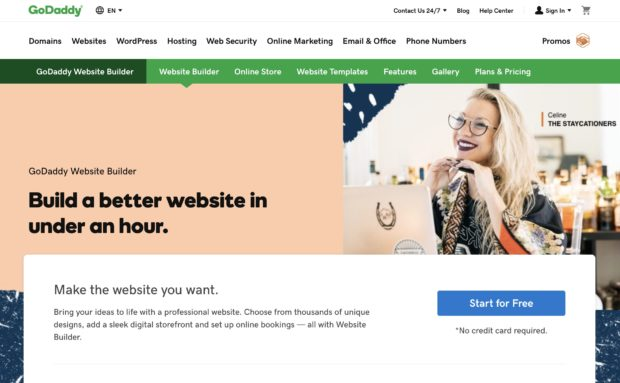 Creating your Service Company Website - GoDaddy Website Builder