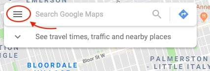 How to Remove a Google Revew - Google Maps Menu