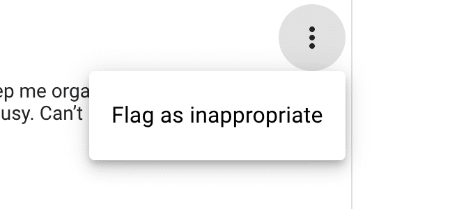 How to flag a Google review as inappropriate from Google My Business