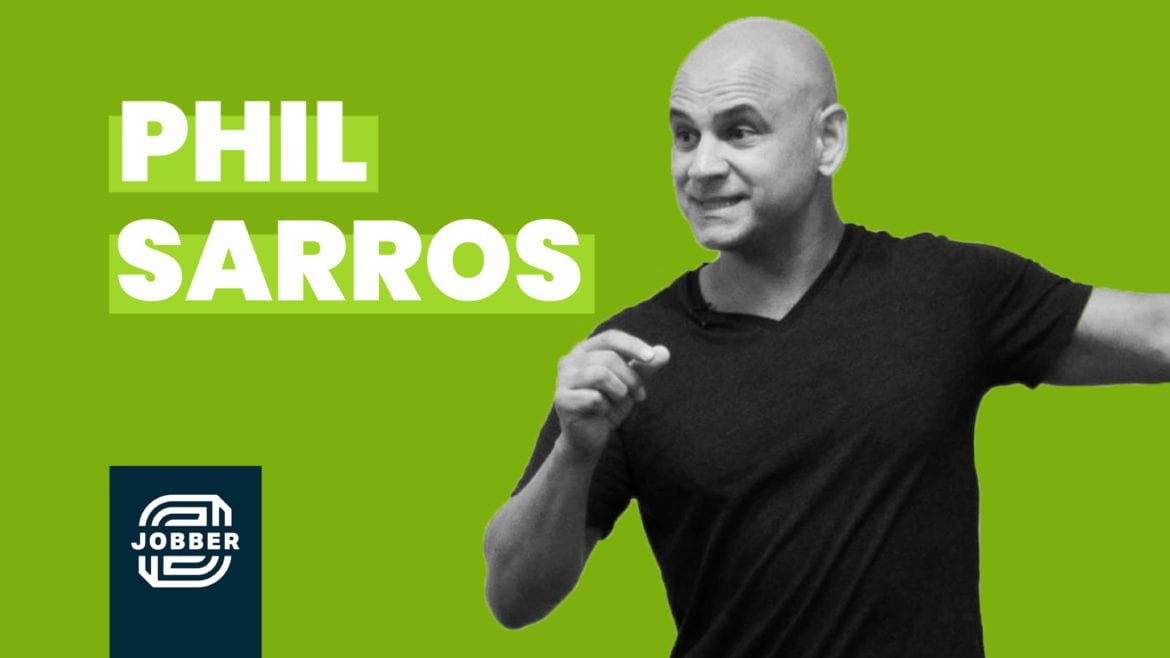 Phil Sarros Impact Live Talk hosted by Jobber