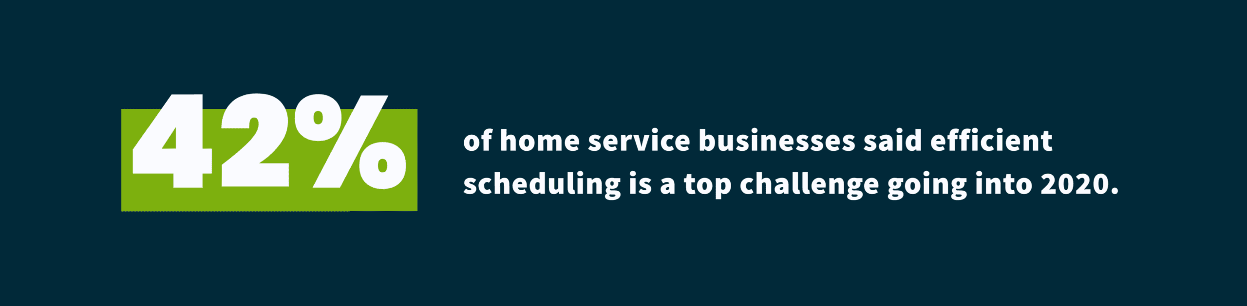 Home Service Industry Trends 2020 - Efficient Scheduling