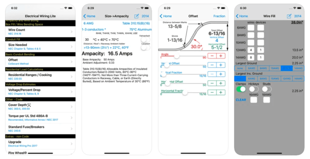Best Plumber Apps: Electrical Wiring Calculator