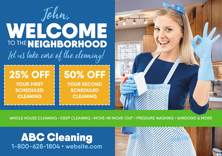 example of a cleaning flyer template