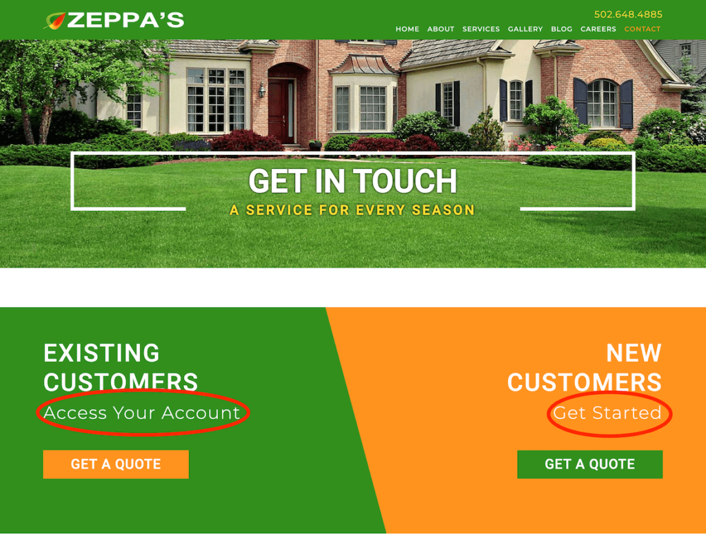 Customer Portal Examples: How Jobber Connects Landscaping Companies to Their Clients