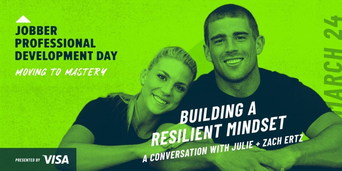 Header image: Zach and Julie Ertz on the qualities of a successful entrepreneur, presented by Visa