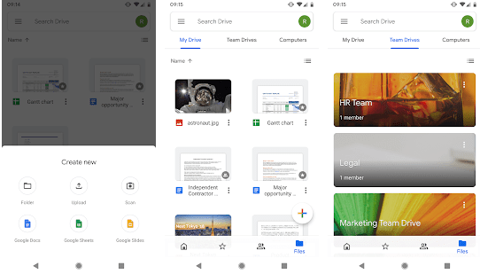 Google Workspace apps for painting contractors
